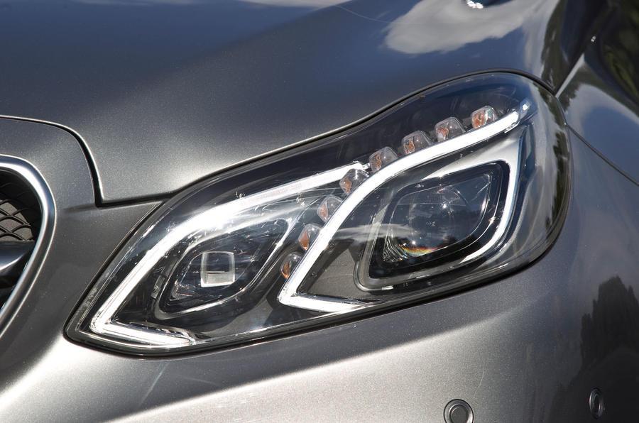 Mercedes-AMG E 63 xenon lights