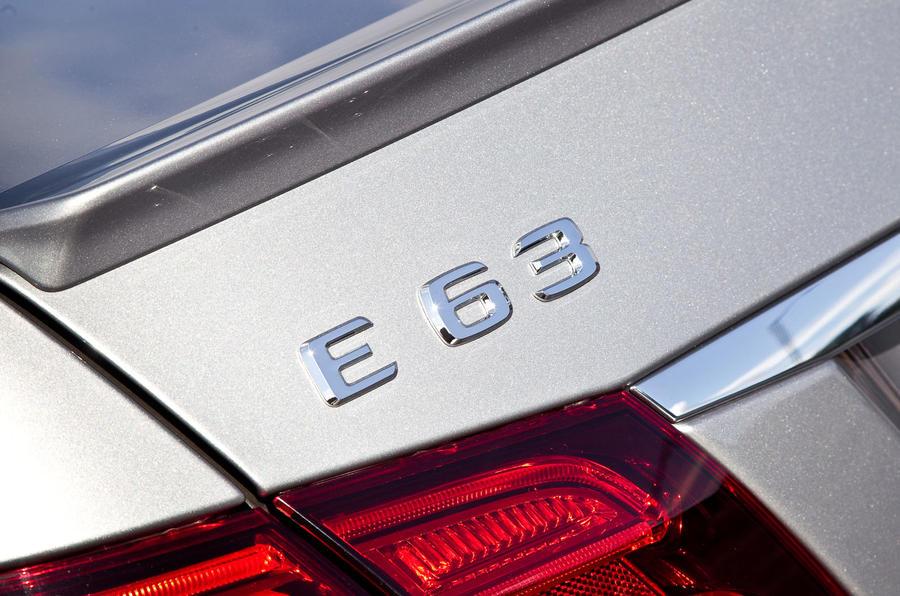 Mercedes-AMG E 63 badging