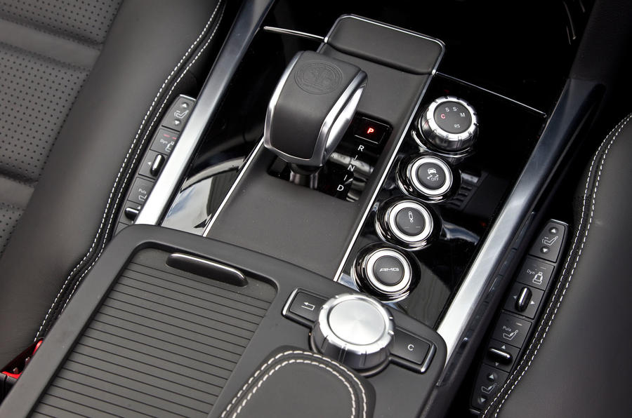 Mercedes-AMG E 63 automatic gearbox