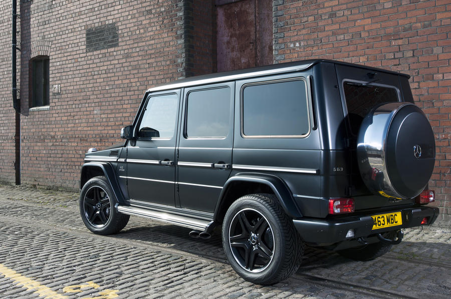 Mercedes-AMG G 63 rear quarter