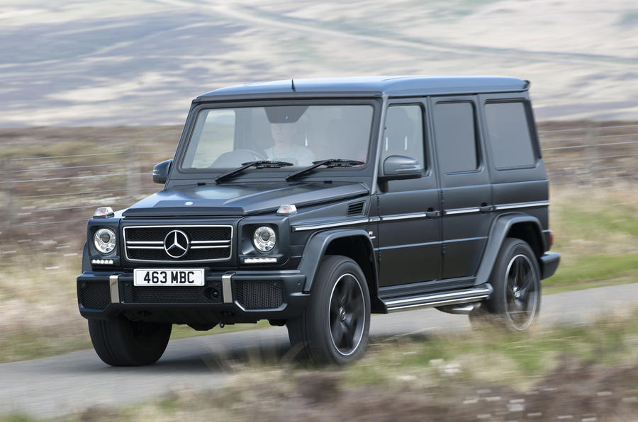 The 537bhp Mercedes-AMG G 63