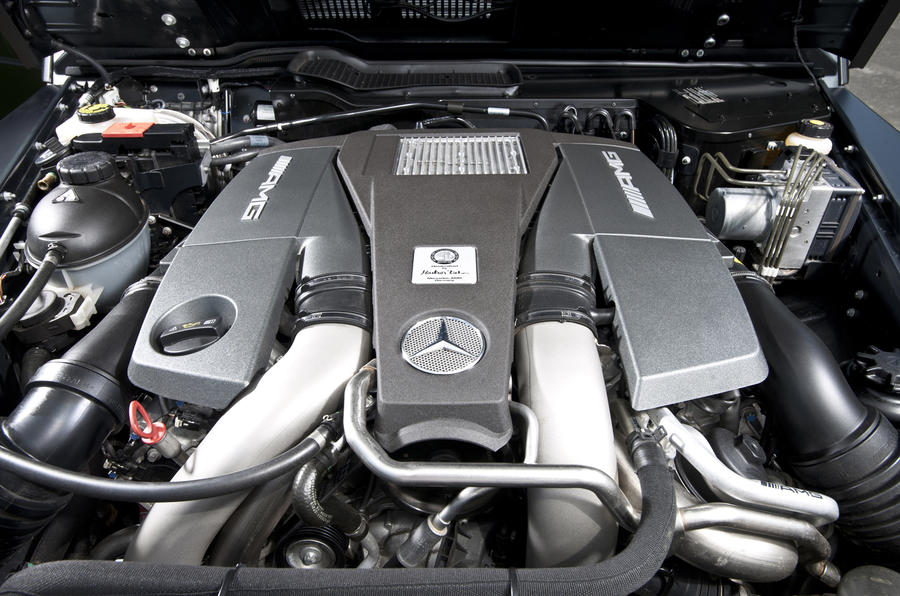 Mercedes-AMG G 63 5.5-litre V8 engine