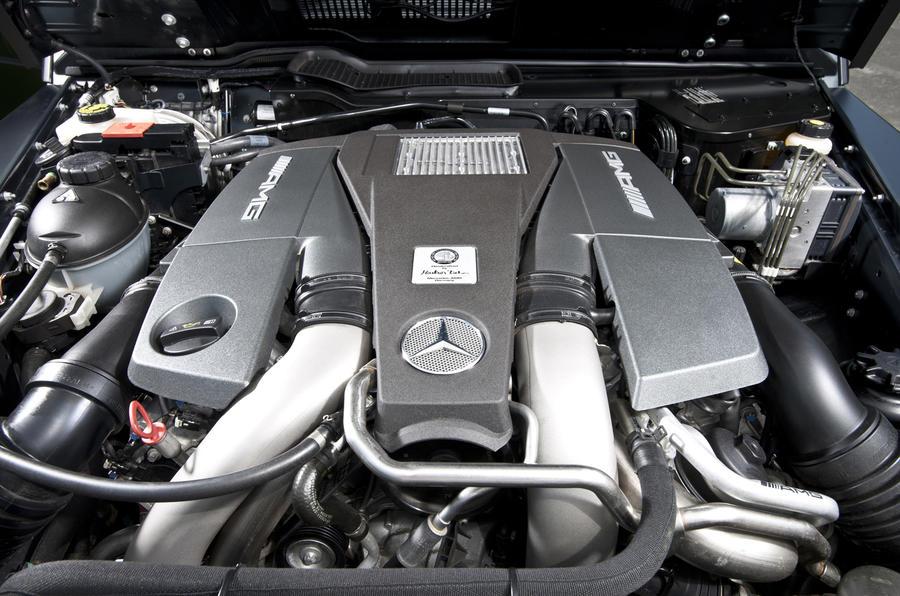Mercedes-AMG G 63 5.5-litre V8 engine
