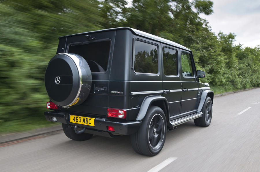 Mercedes-AMG G 63 side profile