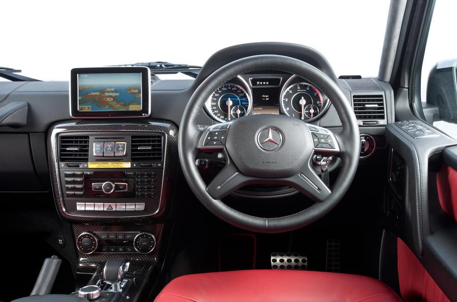 Mercedes-AMG G 63 dashboard