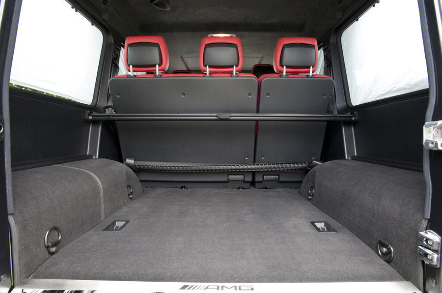 Mercedes-AMG G 63 boot space