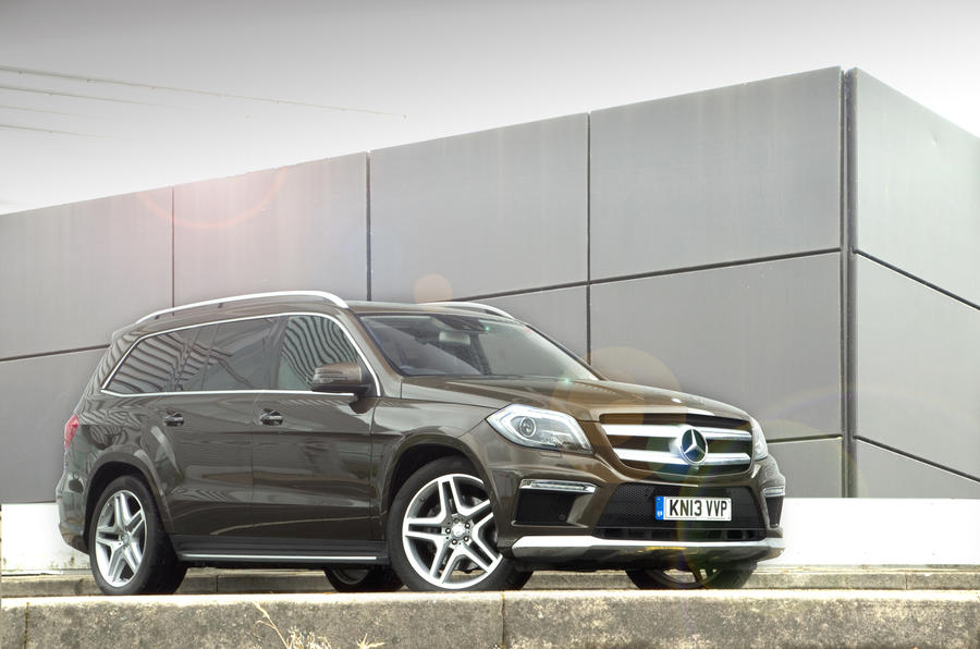 4 star Mercedes-Benz GL