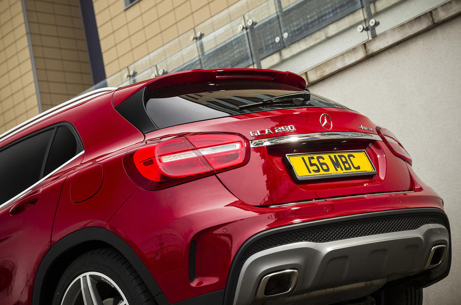 Mercedes-Benz GLA 250 4Matic AMG Line UK first drive review