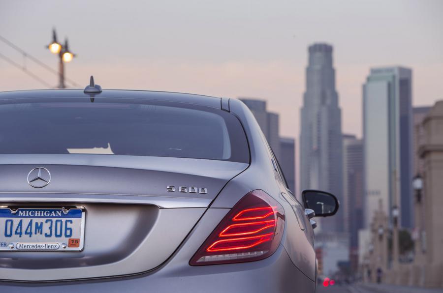 Mercedes-Maybach S 600 rear lights