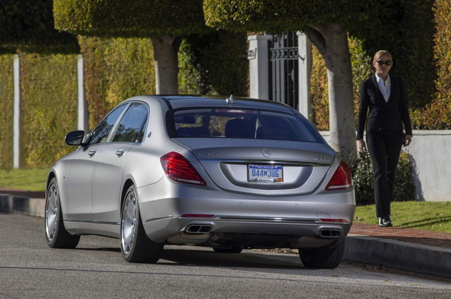 Mercedes-Maybach S 600 limousine