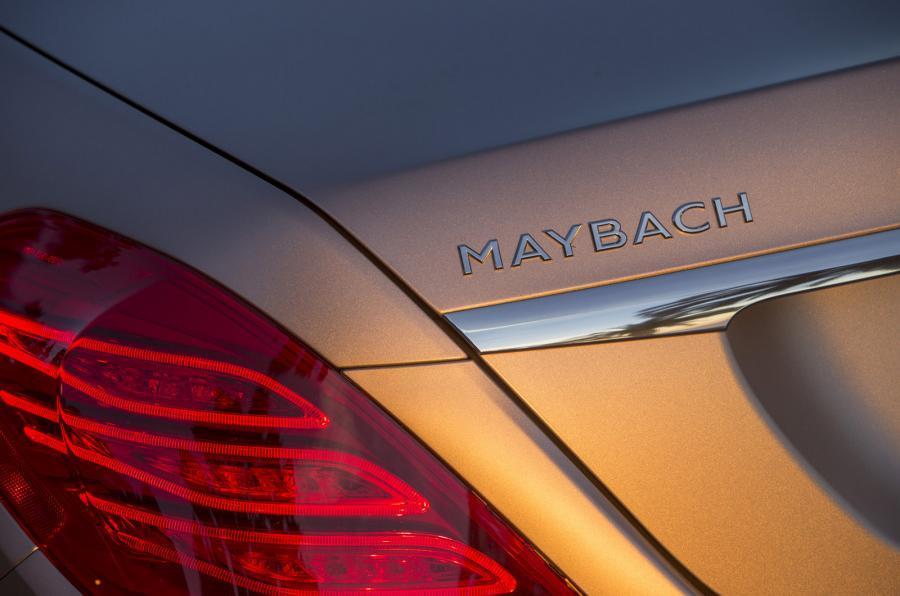 Mercedes-Maybach S 600 badging