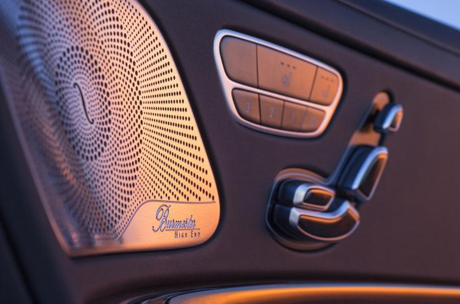 Mercedes-Maybach S 600 seat controls
