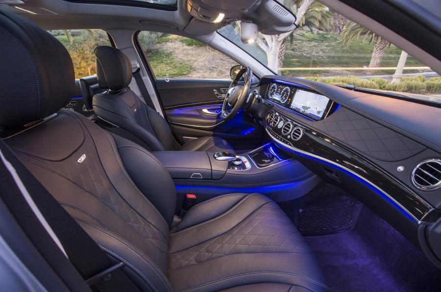 Mercedes-Maybach S 600 interior
