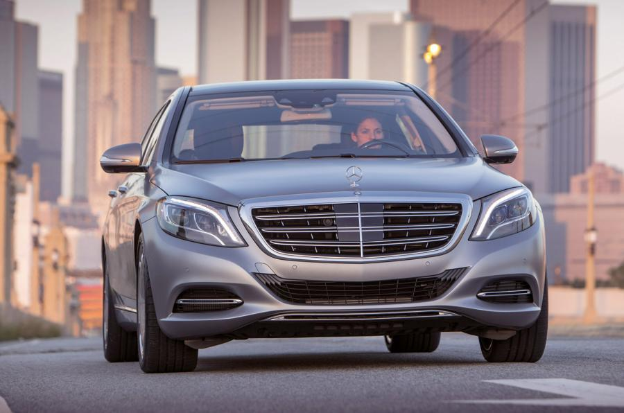 Mercedes-Maybach S 600 front end