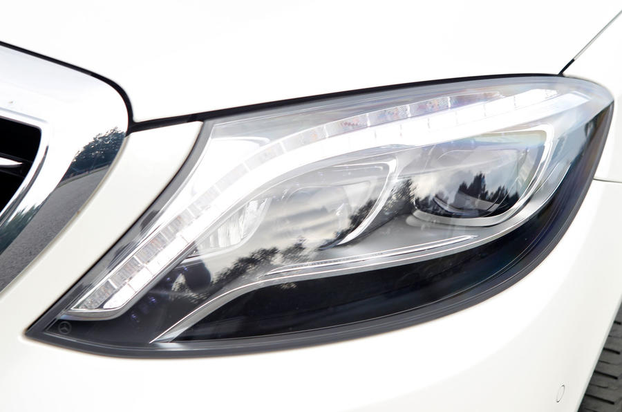 Mercedes-Benz S-Class LED headlights
