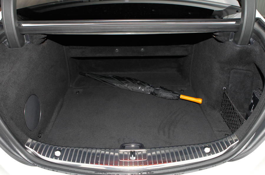 Mercedes-Benz S-Class boot space