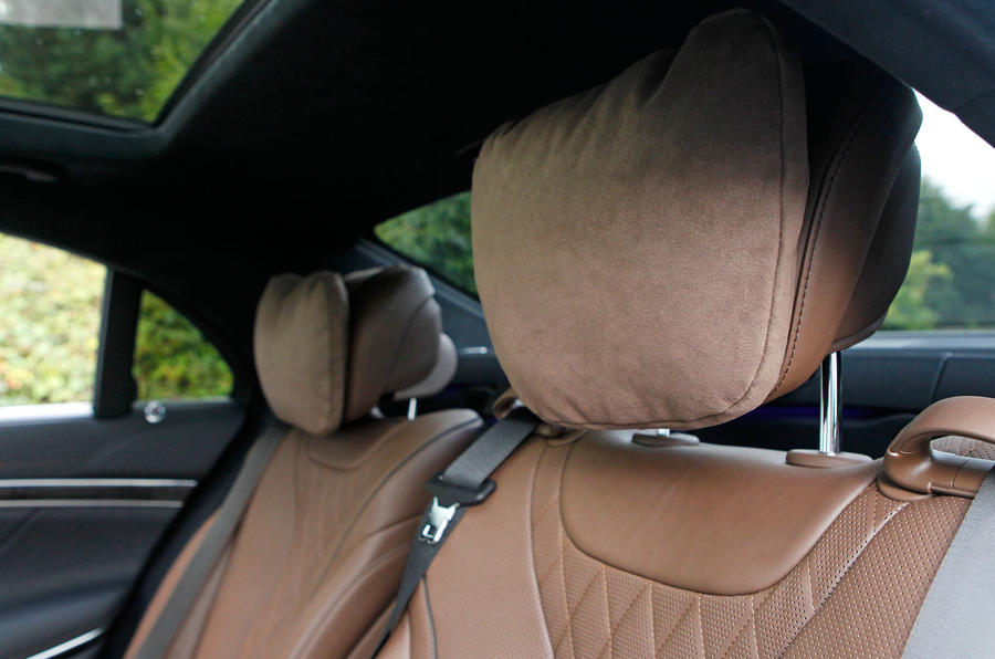 Mercedes-Benz S-Class front seats