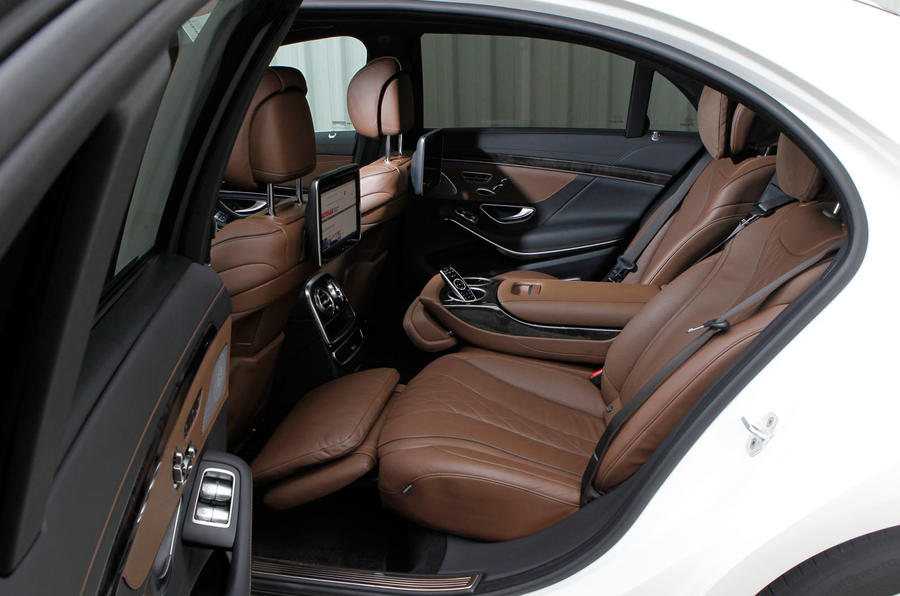 Mercedes-Benz S-Class rear seats