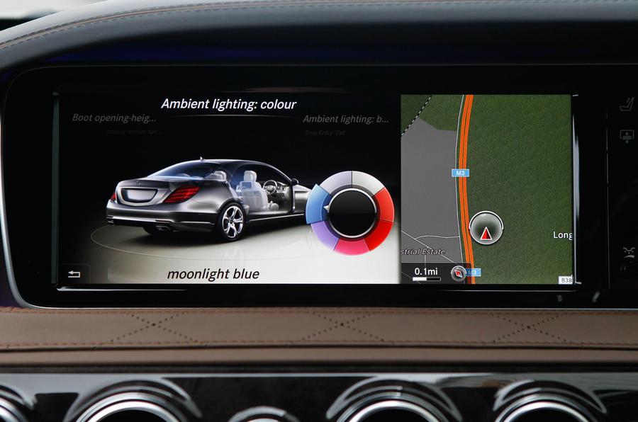 Mercedes-Benz S-Class comfort control