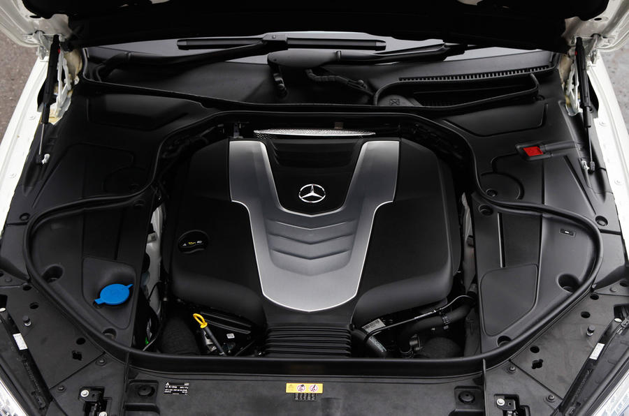 S-Class 3.0-litre V6 diesel engine