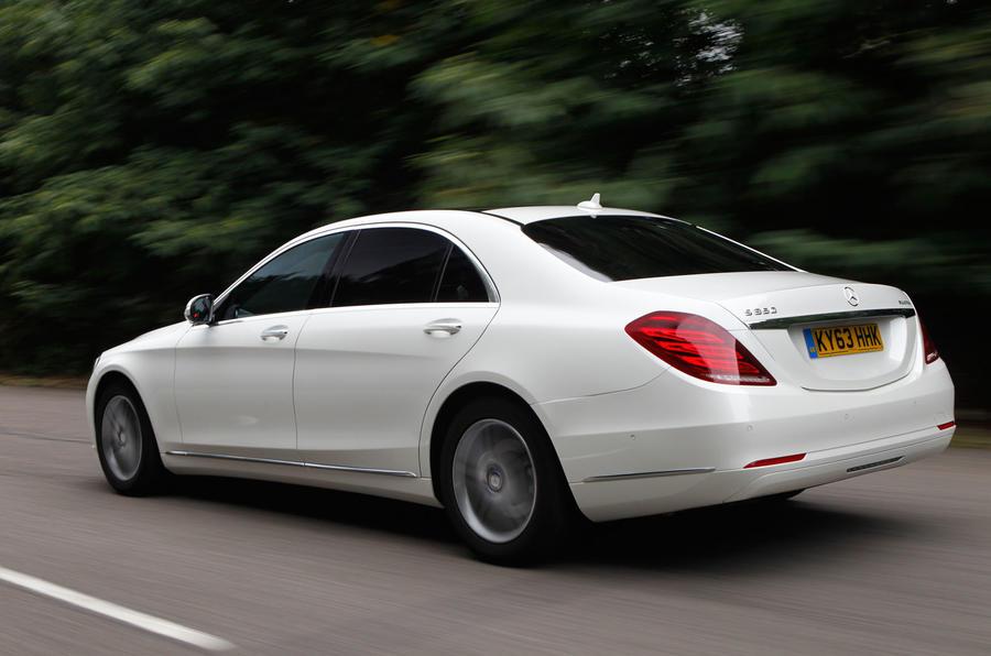 Mercedes-Benz S-Class rear quarter