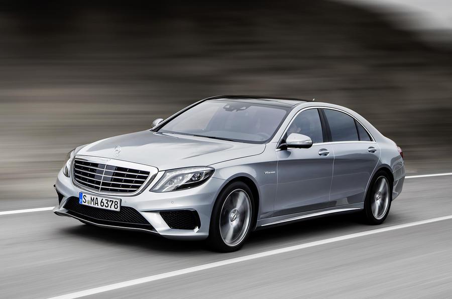 Mercedes S63 AMG revealed