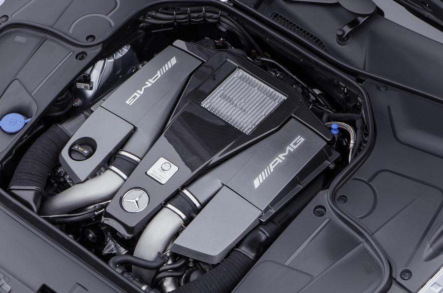 Mercedes-AMG S 63 5.5-litre V8 engine