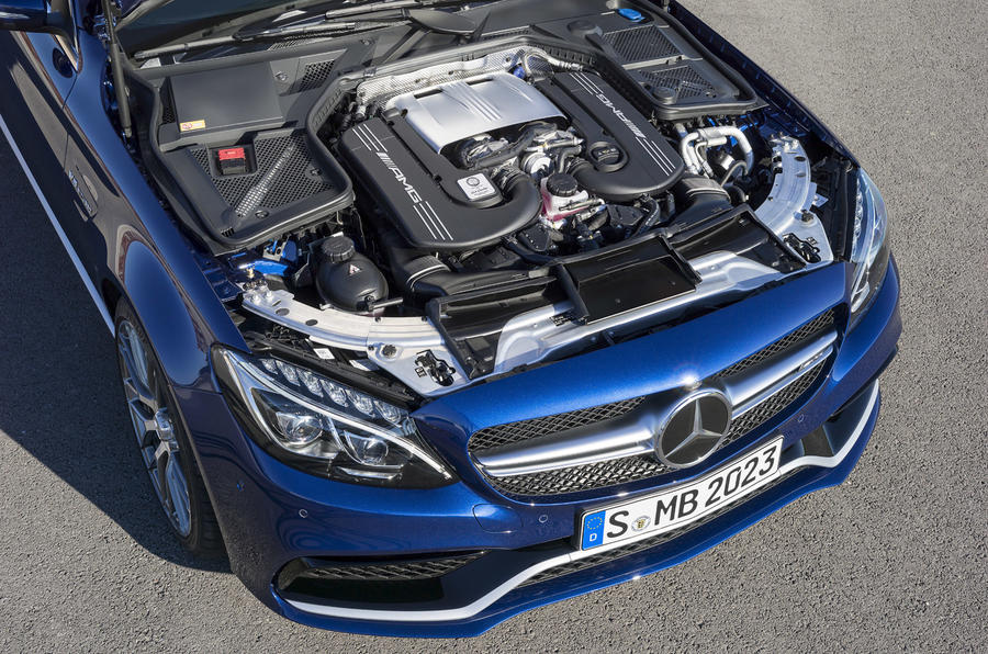 Mercedes-AMG C63 revealed with 503bhp