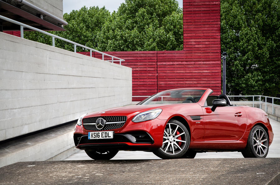 mercedes amg slc 43 design styling autocar. Black Bedroom Furniture Sets. Home Design Ideas