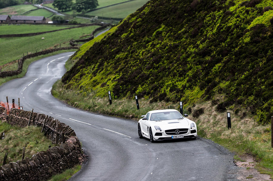 Saying goodbye to the Mercedes AMG SLS - picture special