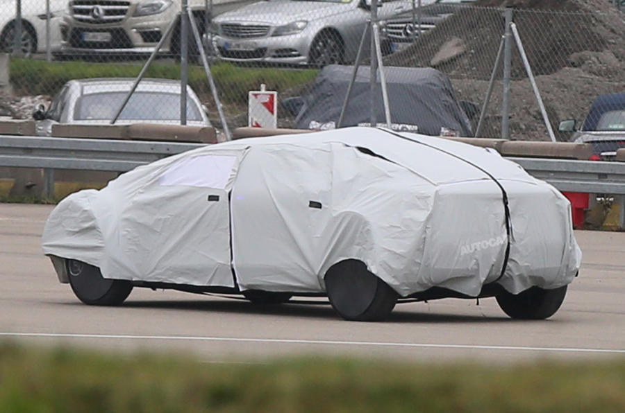 Mercedes-Benz autonomous concept car spied