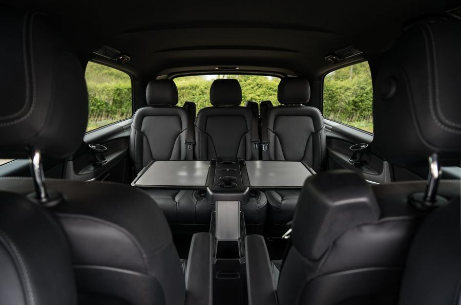 Mercedes-Benz V-Class rear seating