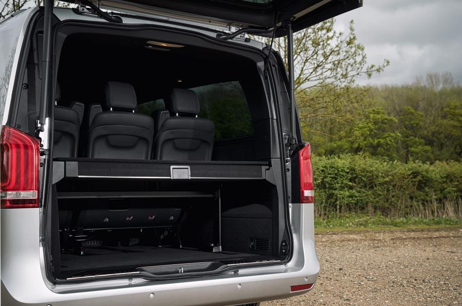 Mercedes-Benz V-Class boot space