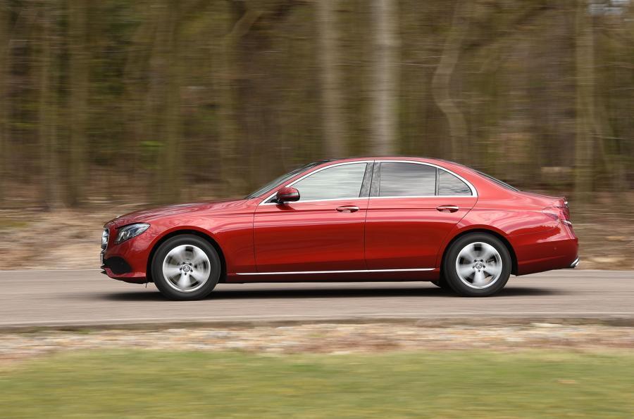 Mercedes-Benz E-Class side profile