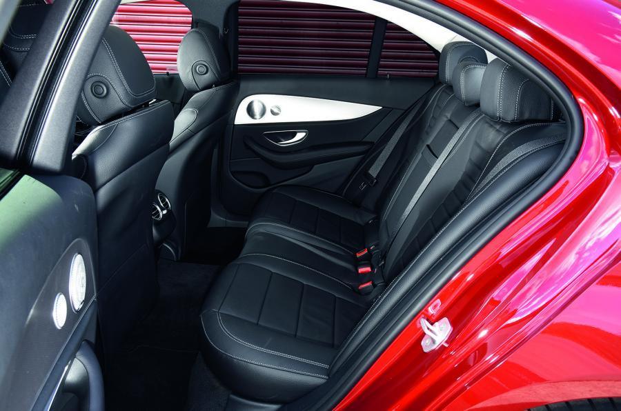 Mercedes-Benz E-Class rear seats