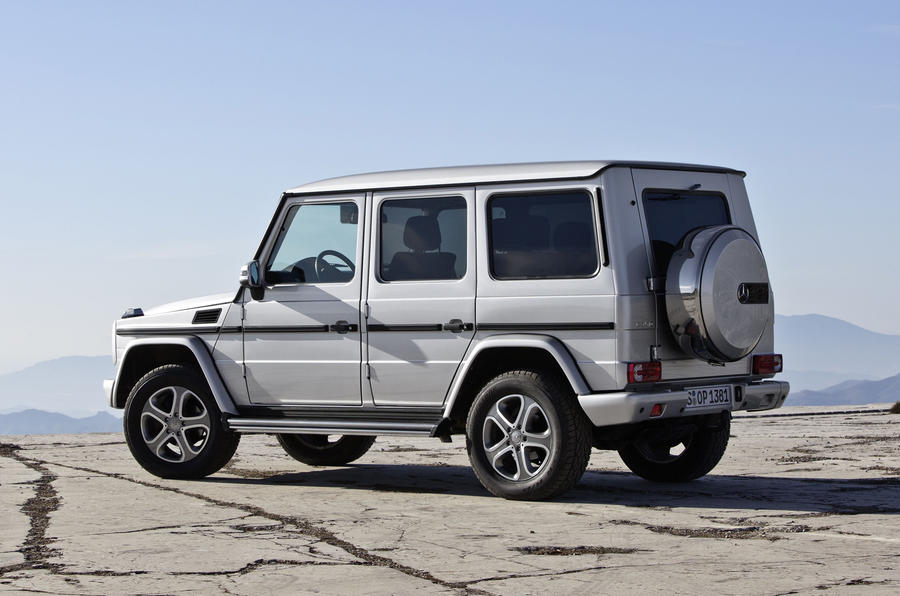 Mercedes-Benz G 350 rear