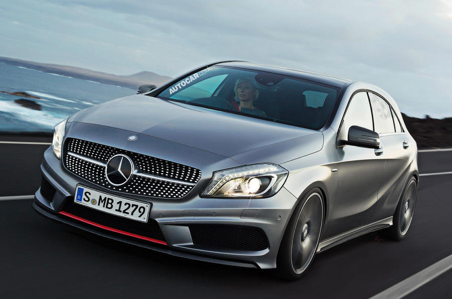 Mercedes a45 amg details revealed autocar for Mercedes benz a45 amg for sale