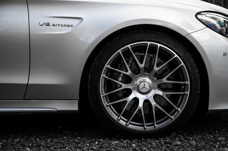 19in Mercedes-AMG C 63 alloy wheels