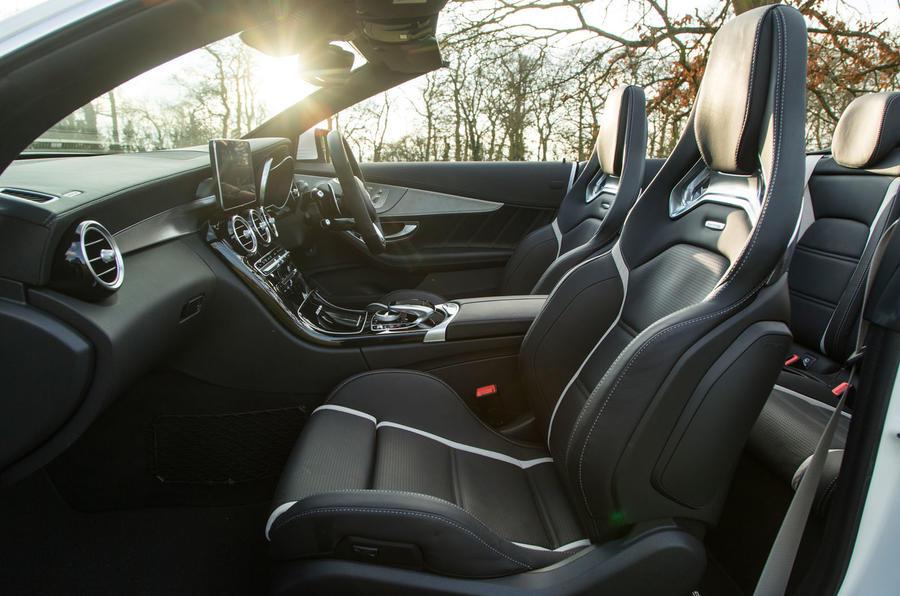 Mercedes-AMG C 63 Cabriolet interior