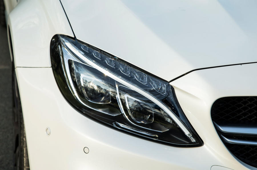 Mercedes-AMG C 63 Cabriolet LED headlights