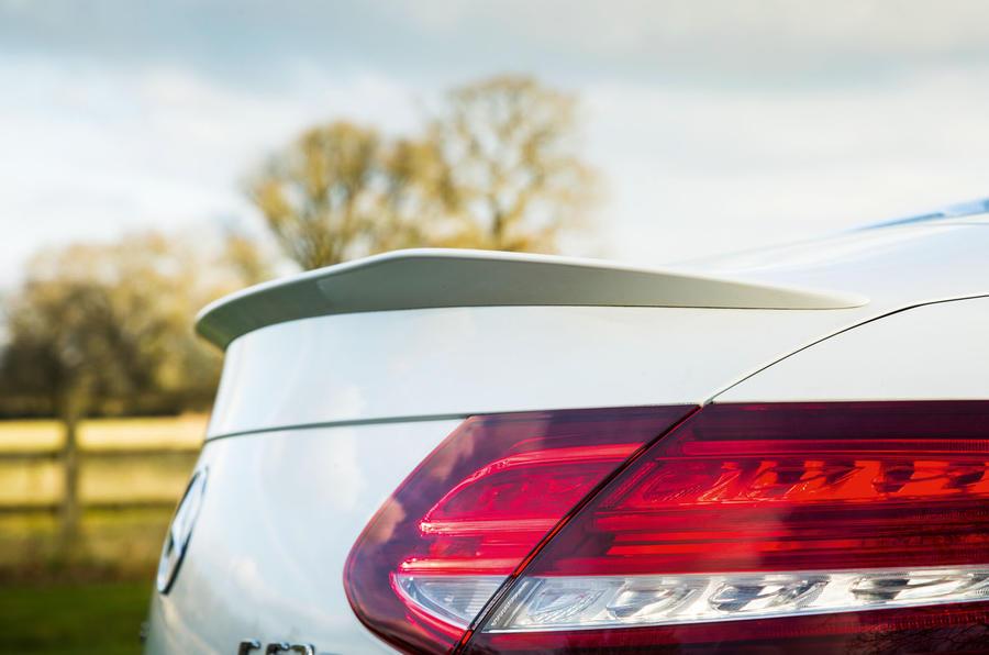 Mercedes-AMG C 63 Cabriolet rear spoiler