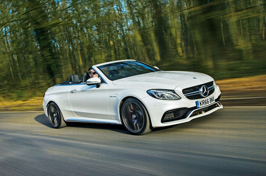 Mercedes AMG C 63 Cabriolet Review 2018