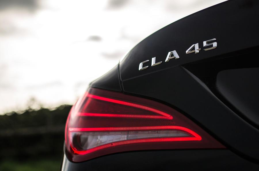 Mercedes-AMG CLA 45 rear lights