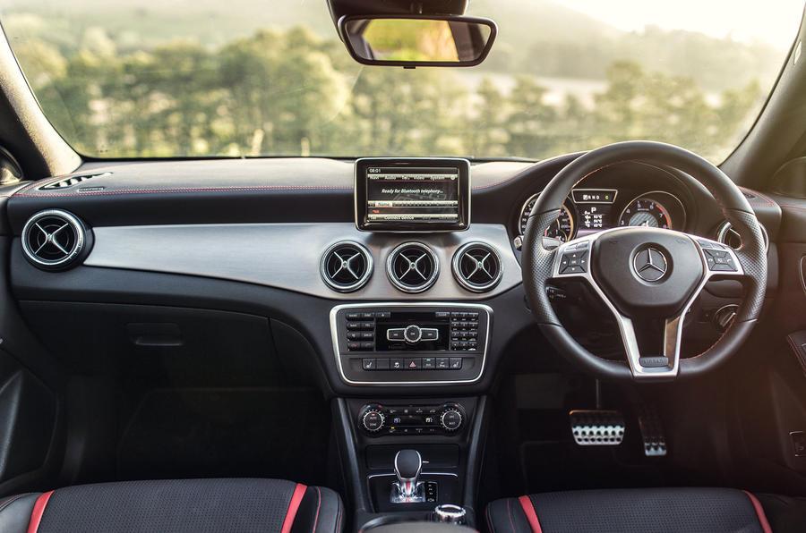 Mercedes-AMG CLA 45 dashboard
