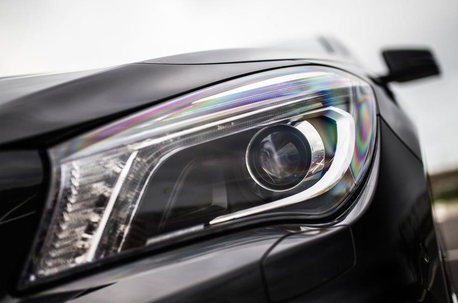 Mercedes-AMG CLA 45 headlights