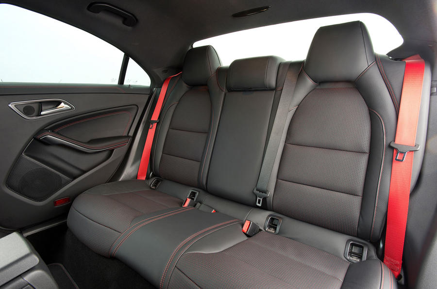 Mercedes-AMG CLA 45 rear seats