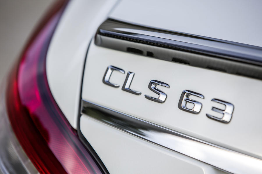 Mercedes-AMG CLS 63 S badging