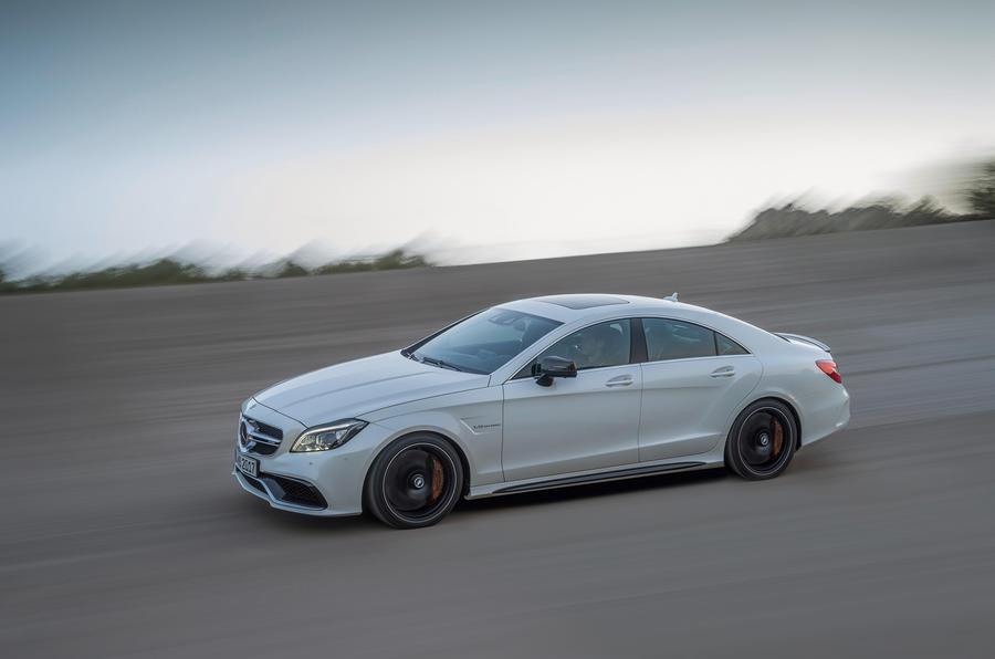 Mercedes-AMG CLS 63 S cornering
