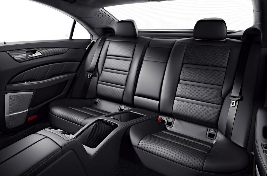 Mercedes-AMG CLS 63 S rear seats