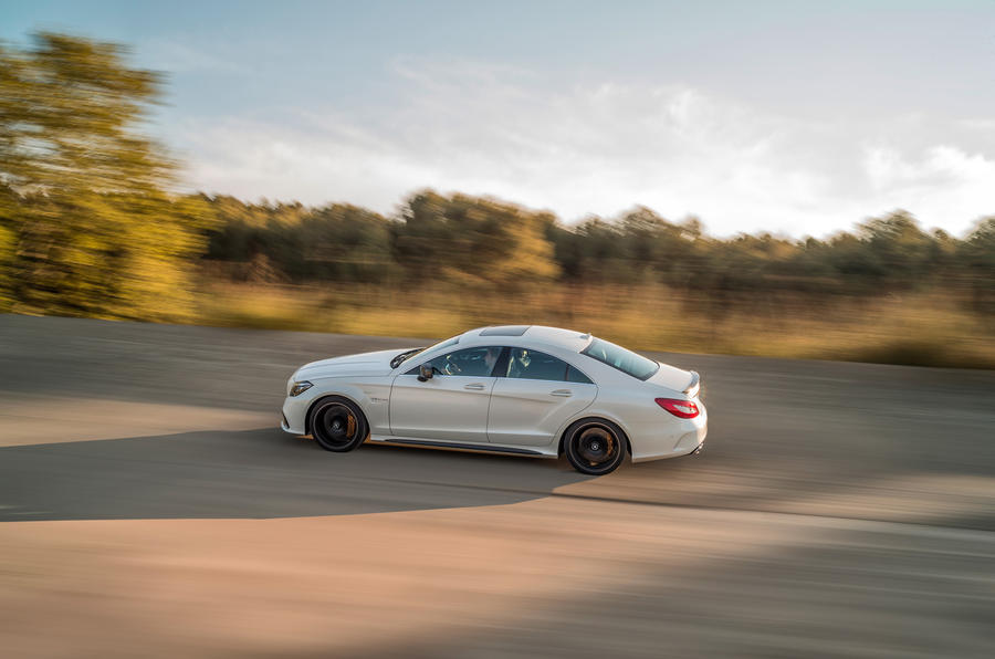 Mercedes-AMG CLS 63 S rear